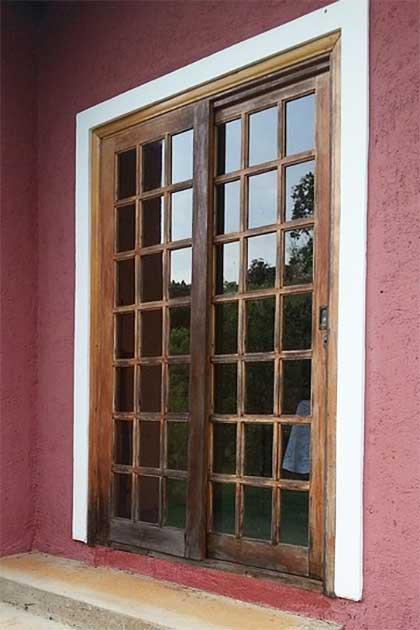 Porta stile inglese in legno