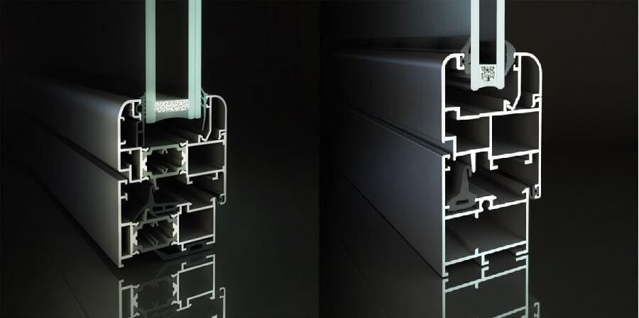 Infissi Alluminio Taglio Termico Fabbrica Finestre Risparmio