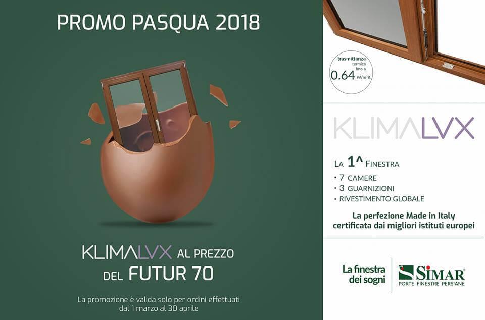 Offerta infissi in pvc klimalux al prezzo del futur 70 for Offerta finestre pvc