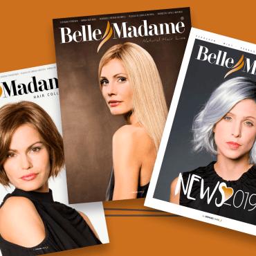 Nieuwe catalogi haarwerk-collectie Belle Madame