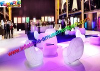 Blow Up Wedding and Event Sofa Chair, LED Lighting ...