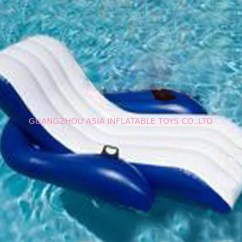 Inflatable Water Chairs For Adults Red Vanity Chair Floating Relaxed Sofa Used In Swimming Pool