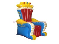Ce Certificated Inflatable King Chair Sofa Furniture For ...