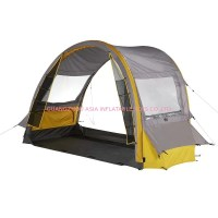 Pop up Inflatable Family Clear Camping Tent