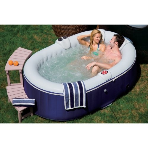 OSpazia AS03 BlowUp Spa Oval 4 People 660 L Blue