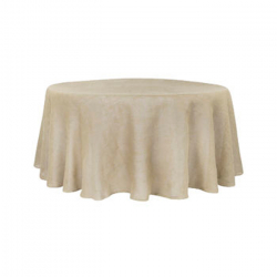 chair cover rentals birmingham al exercise ball base table event deborah s party 108 round faux burlap linen linens