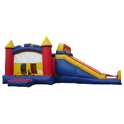 3in1 Castle Waterslide
