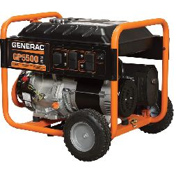 5500W Generator 4 hr min
