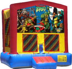 Ninja Turtles Modular Bounce House