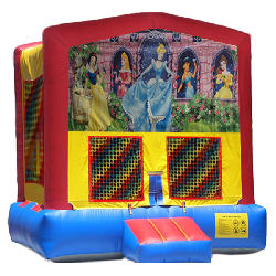 Princesses Modular Bounce House