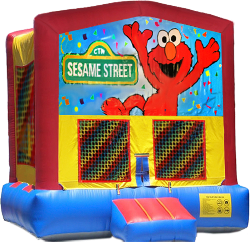 Elmo Modular Bounce House
