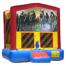 Teanage Mutant Ninja Turtles Modular Bounce House
