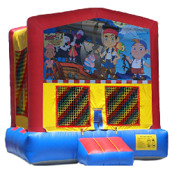 Jake The Pirate Modular Bounce House