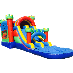 4in1 Castle Water Slide