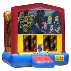 Despicable Me Modular Bounce House