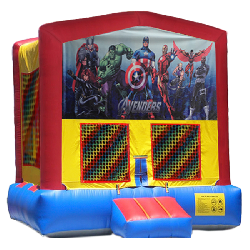 Avengers Modular Bounce House
