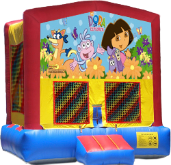 Dora The Explorer Modular Bounce House
