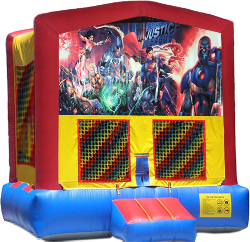 Justice League Modular Bounce House