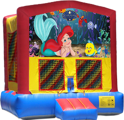 Little Mermaid Modular Bounce House