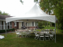 20 x 20 Frame tent Package RB