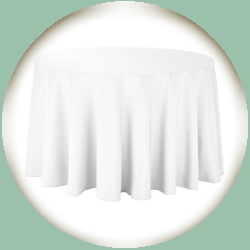Table Linen for 60 in. Round Table