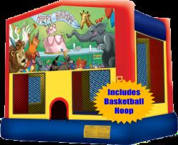 Animal Birthday Jump w/Hoop
