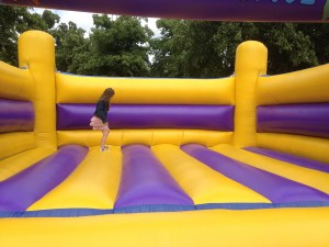Adult Bouncy Castle PIPA Testing