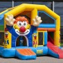 Jumper Clown Combos Commercial With Roof Inflatable