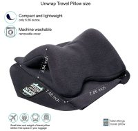 Travel pillow scarf - Travel pillow - Airplane pillow ...