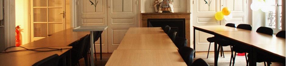 salle de cours de francais