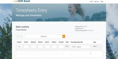 PeopleSoft Time Entry Approvals