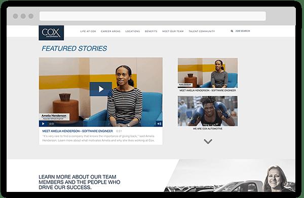 Cox Career Site Stories