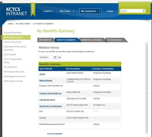 KCTCS-PeopleSoft-Benefits-Summary