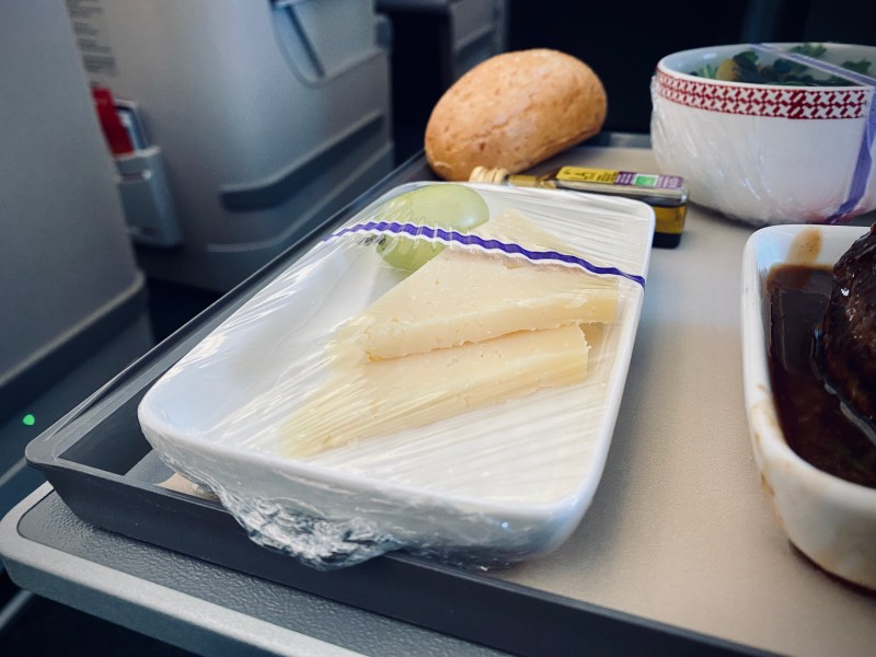 Iberia Business Class catering
