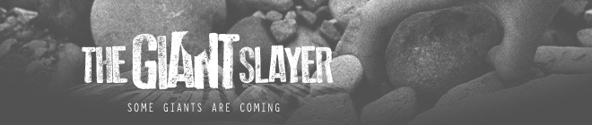 Podcast Banner: The Giant Slayer_tgs