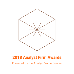 2018 Analyst Firm Award