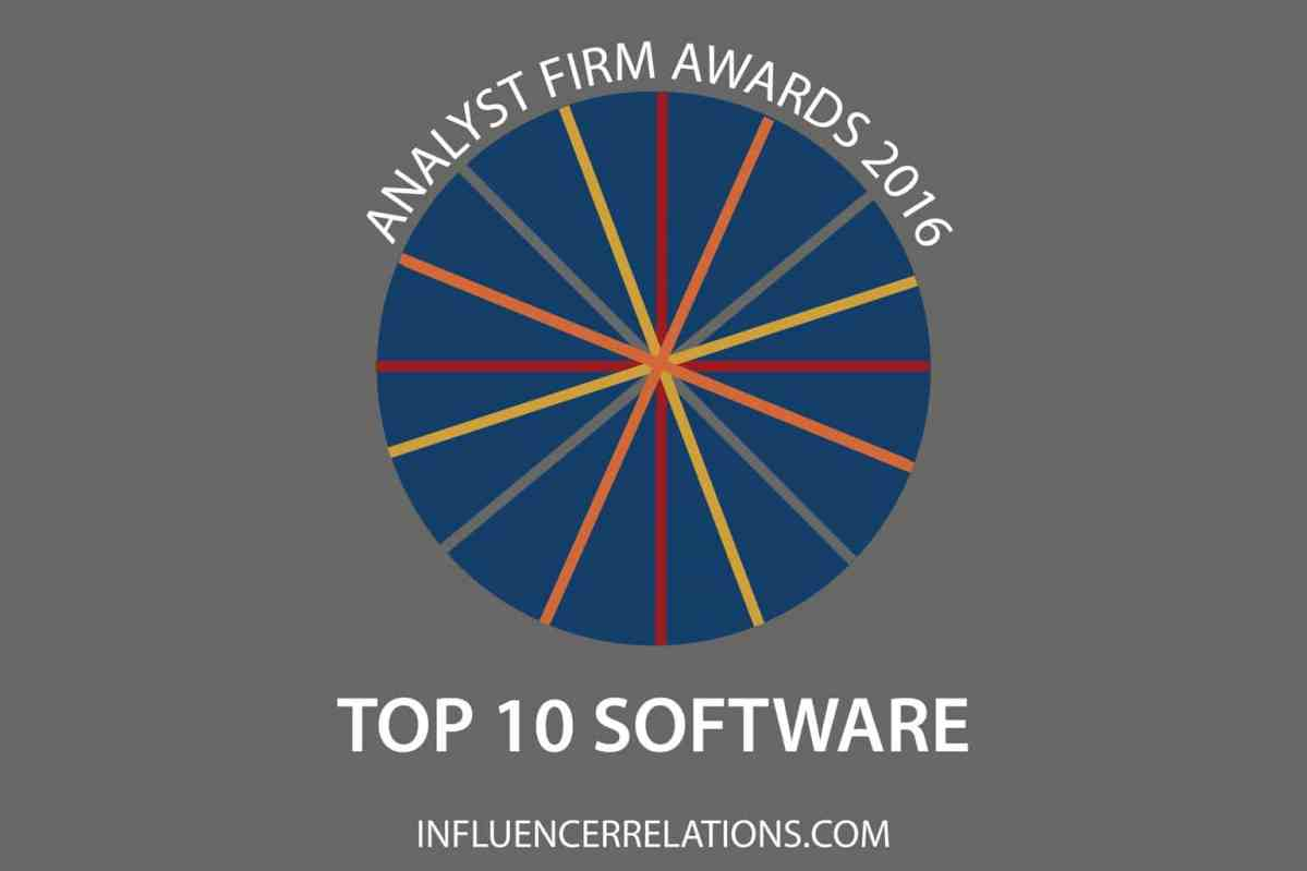 Gartner, Forrester & IDC lead 2016 Software Analyst Firm Awards