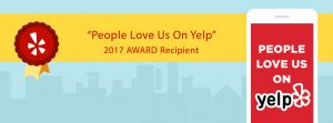 People Love Us On Yelp Award 2017