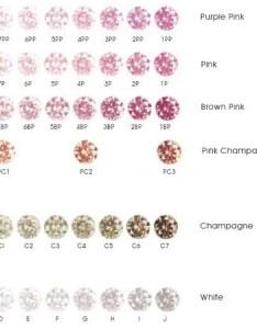 Argyle diamond scale also color rh info