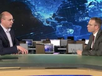 Andrei Kondrashov mit Stefan Magnet