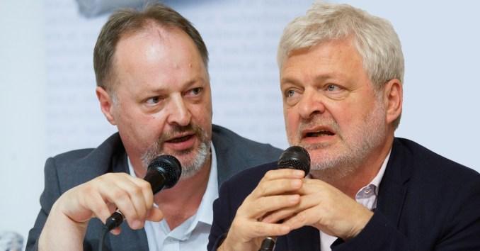 Richard Pichler und Karl Öllinger.