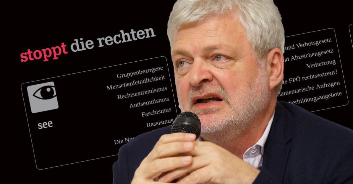 Karl Öllinger, Stoppt die Rechten