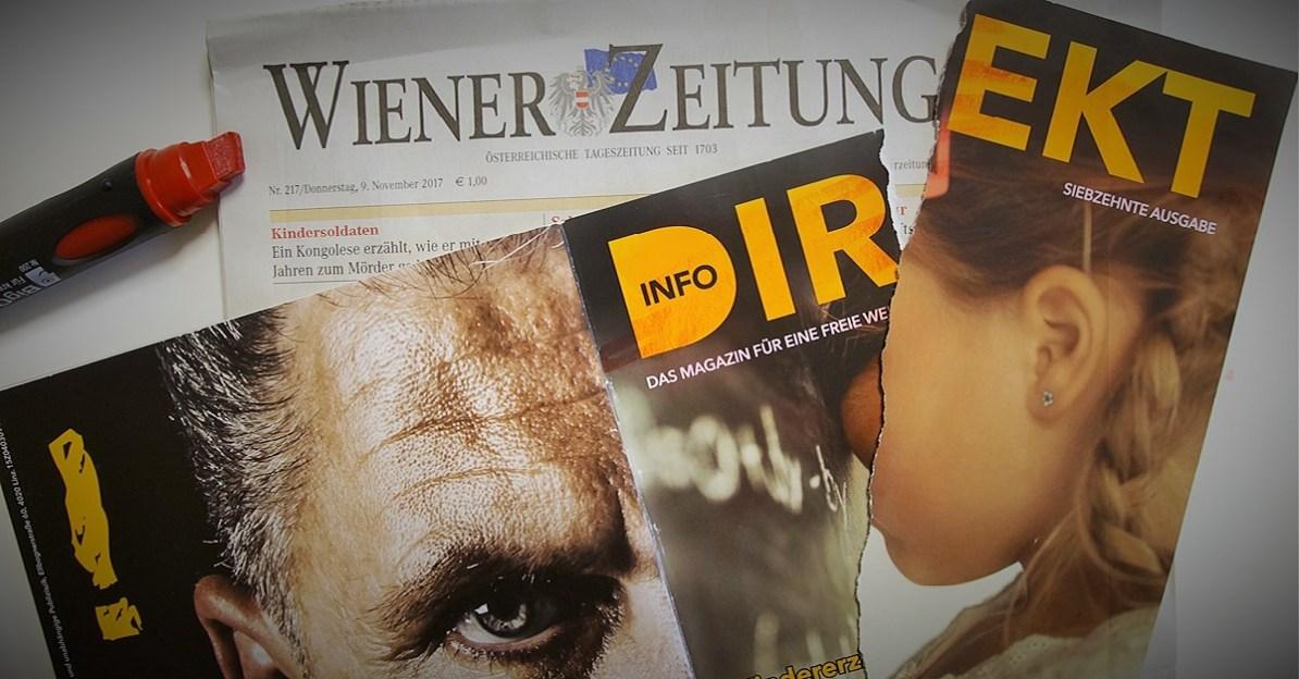 Werner Reisinger, Wiener Zeitung, Info-DIREKT