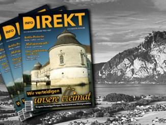 Printmagazin Info-DIREKT Ausgabe 20: Wir verteidigen unsere Heimat!