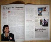 Printmagazin Info-DIREKT, Birgit Gerstorfer, Gewalt, Kommunismus, Antifa