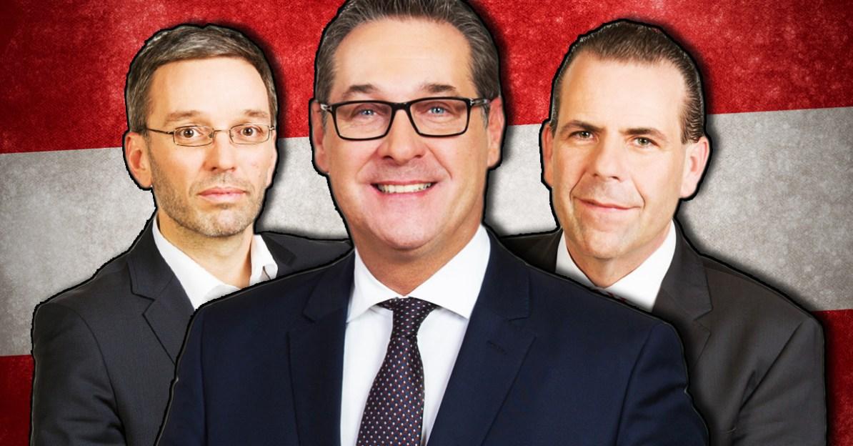 UN Migrationspakt, HC Strache, Herbert Kickl, Harald Vilimsky,