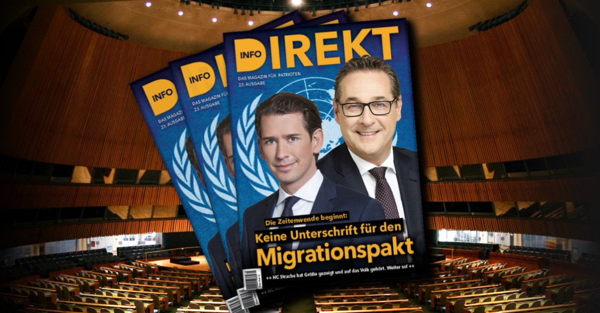 Magazin Info-DIREKT: UN-Migrationspakt stoppen