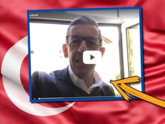 Andreas Reindl (FPÖ Stadtpartei Salzburg) Wahlwerbung auf Türkisch