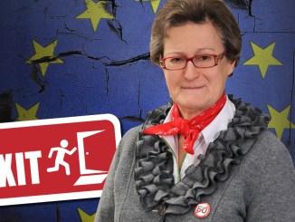 Inge Rauscher, EU-Nein