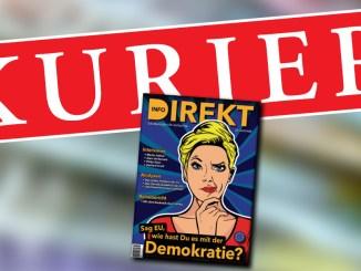 Kurier Interview mit info-DIREKT